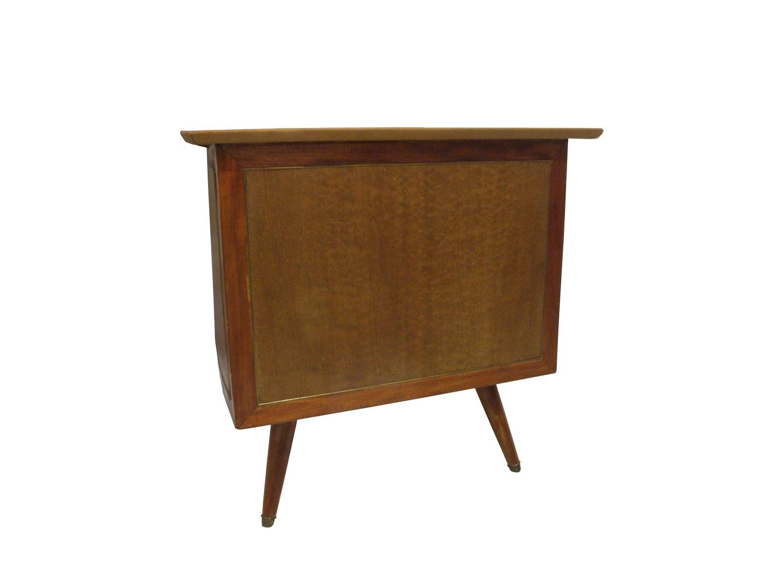 geschwungener vintage schreibtisch aus mahagoni bei pamono. Black Bedroom Furniture Sets. Home Design Ideas