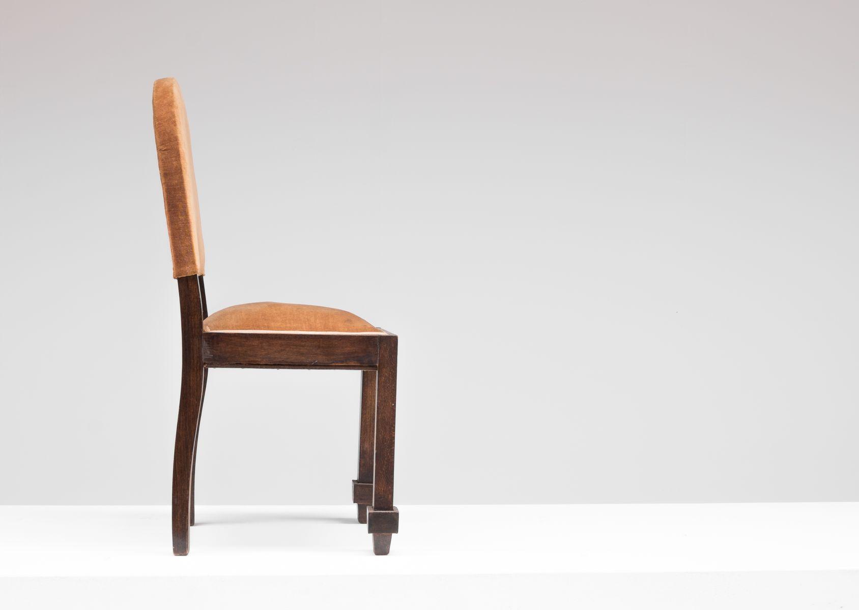 art deco stuhl von de coene bei pamono kaufen. Black Bedroom Furniture Sets. Home Design Ideas