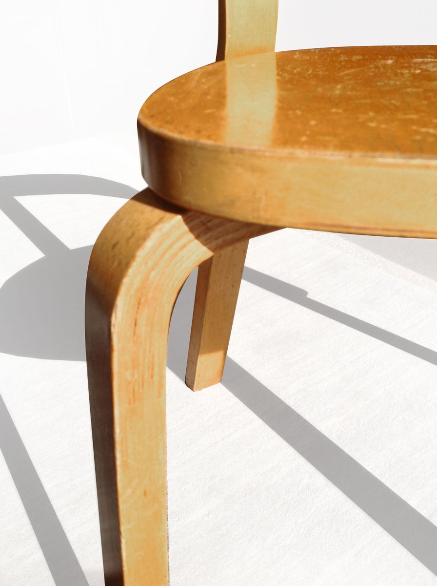 alvar aalto furniture. Birch Side Chair By Alvar Aalto For Artek, 1937 Furniture 0