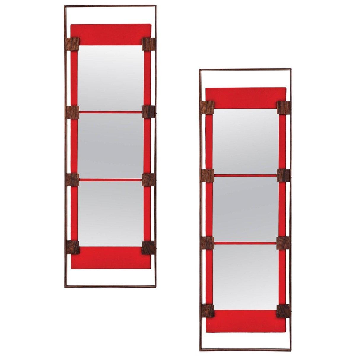 italienische wandspiegel von ico parisi f r stildomus. Black Bedroom Furniture Sets. Home Design Ideas