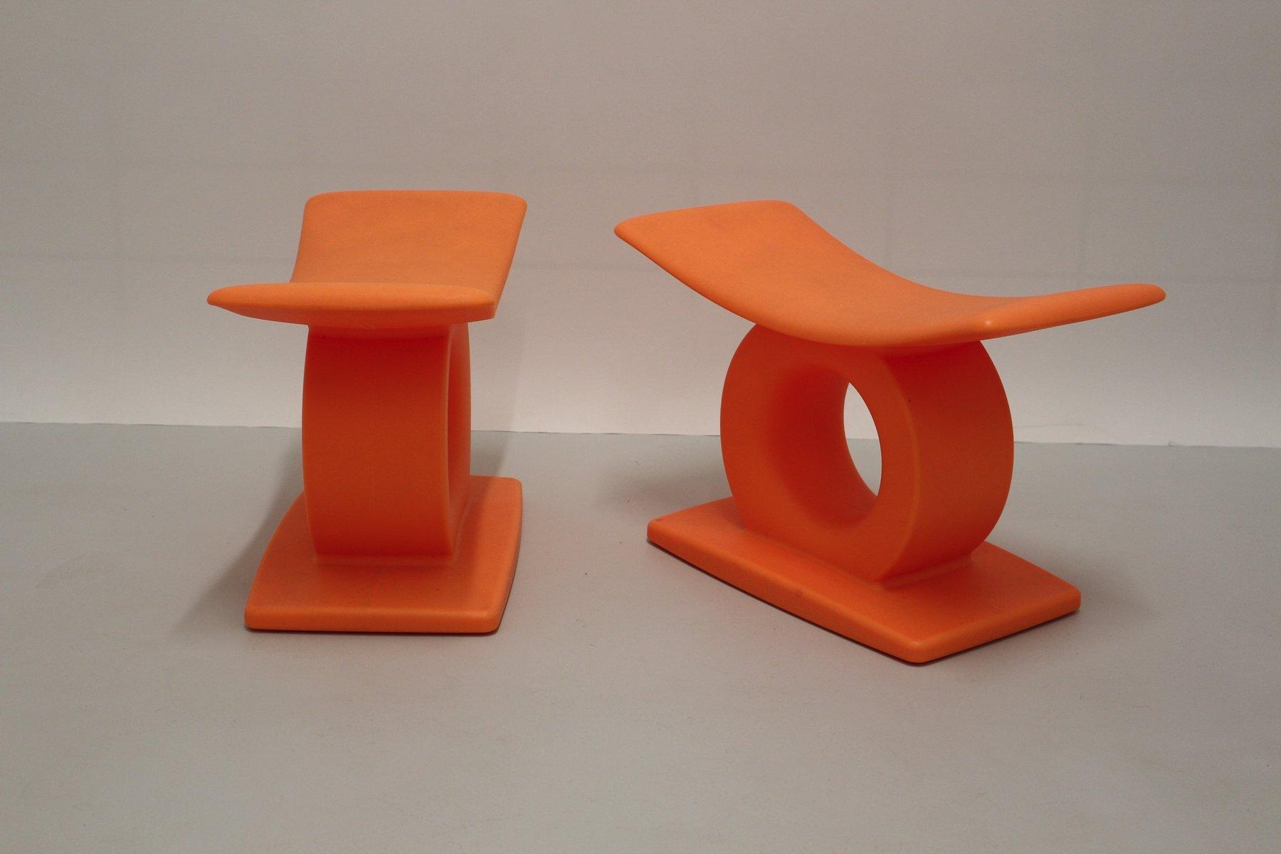tam tam hocker von matheo thun f r magis 2er set bei pamono kaufen. Black Bedroom Furniture Sets. Home Design Ideas