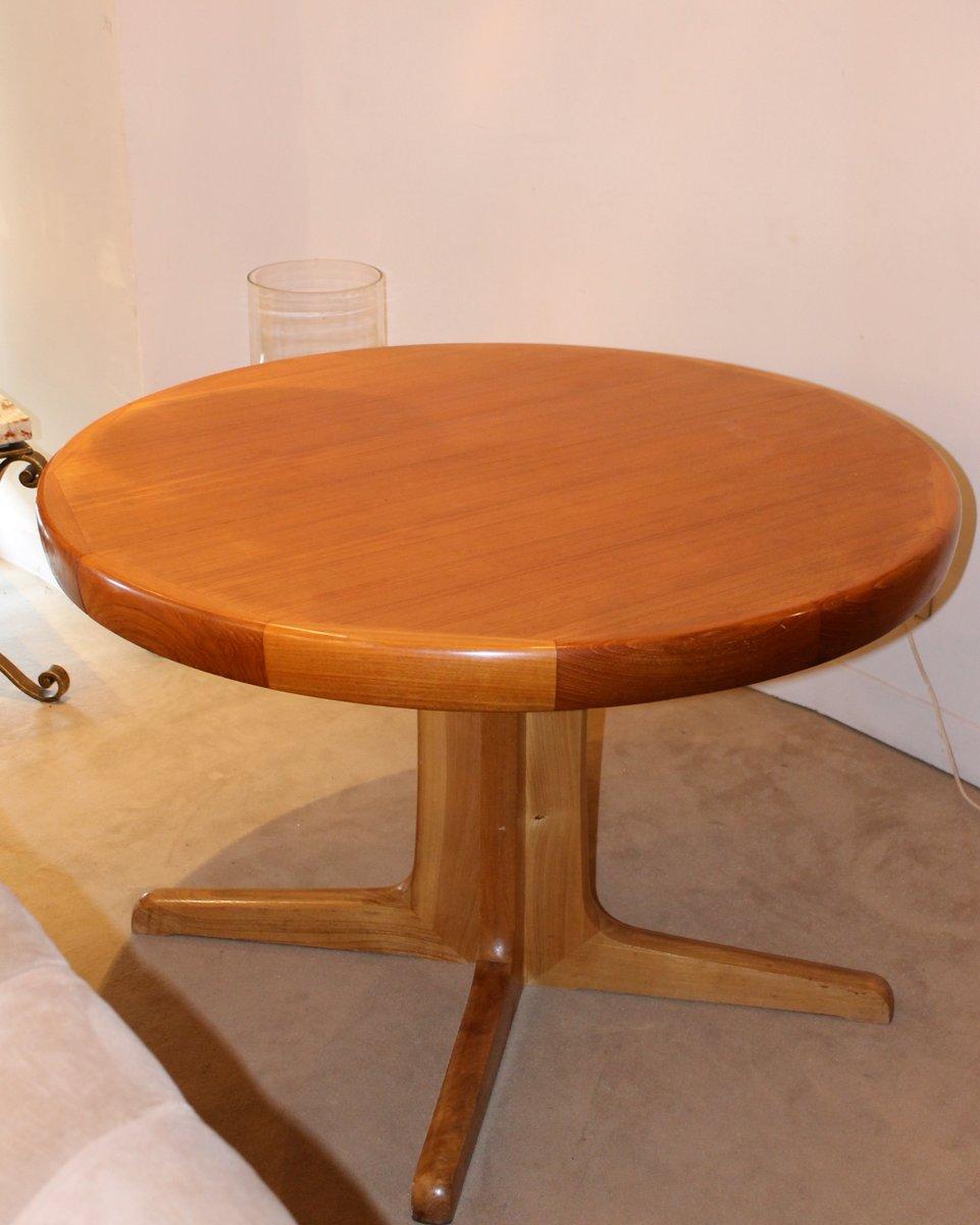 skandinavischer teak esstisch 1960er bei pamono kaufen. Black Bedroom Furniture Sets. Home Design Ideas