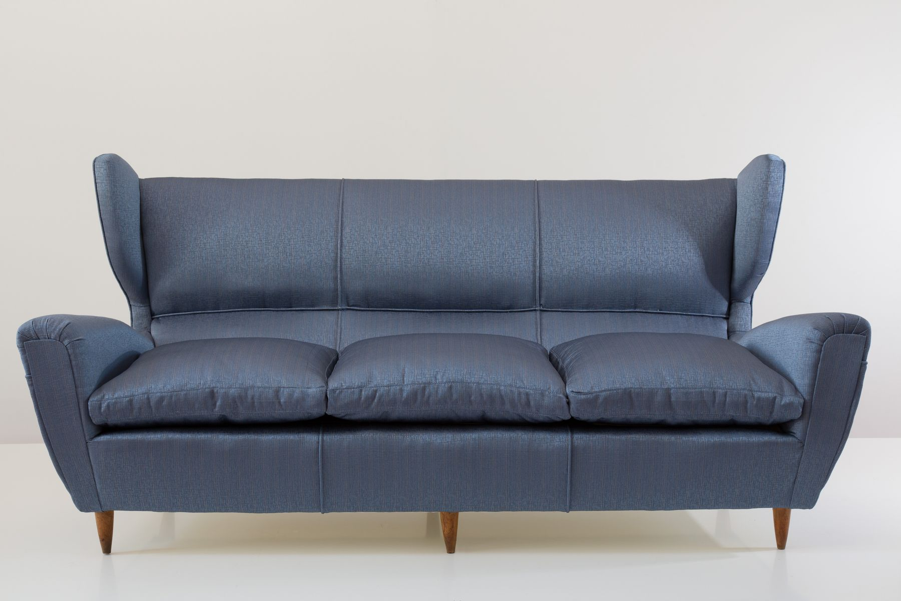 drei sitzer ohrensessel sofa von paolo buffa bei pamono kaufen. Black Bedroom Furniture Sets. Home Design Ideas