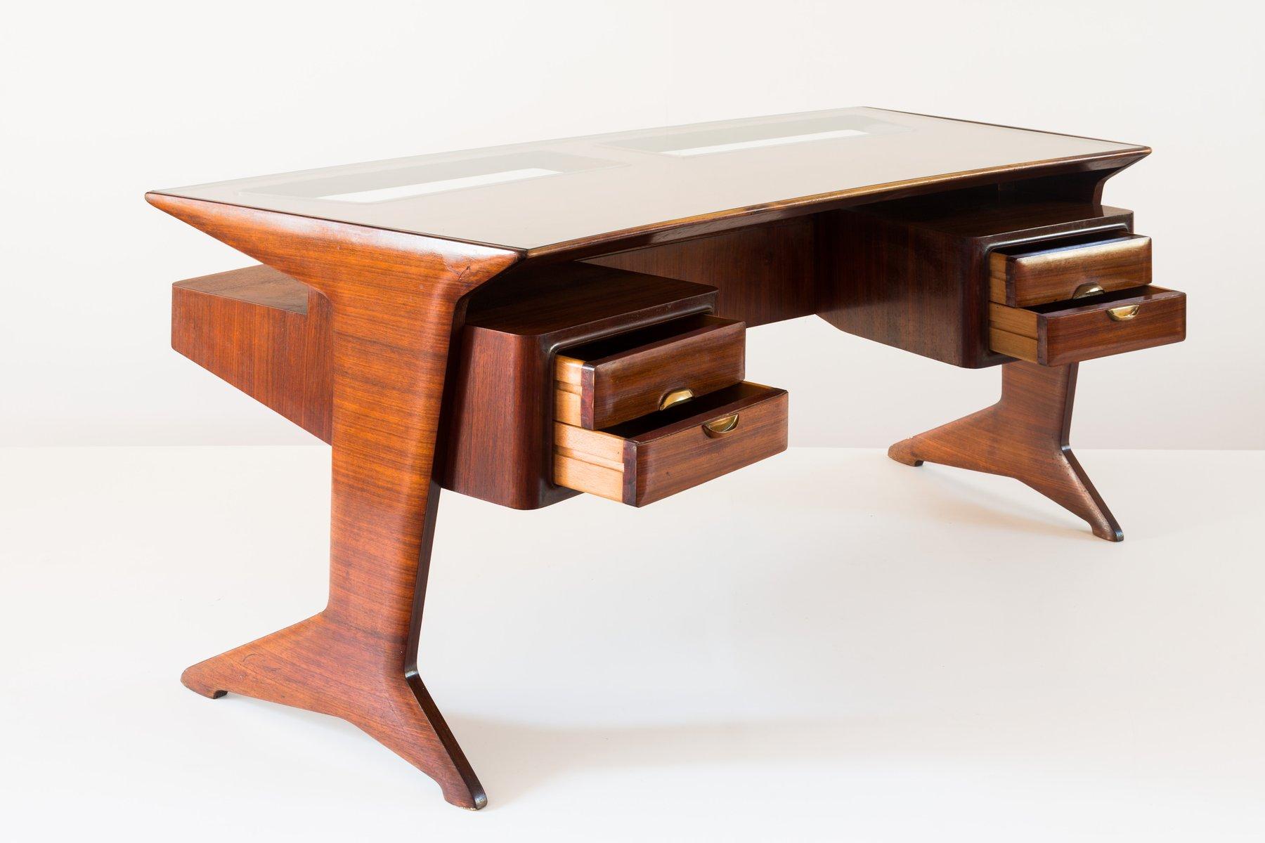 bureau de guglielmo ulrich 1940s en vente sur pamono. Black Bedroom Furniture Sets. Home Design Ideas