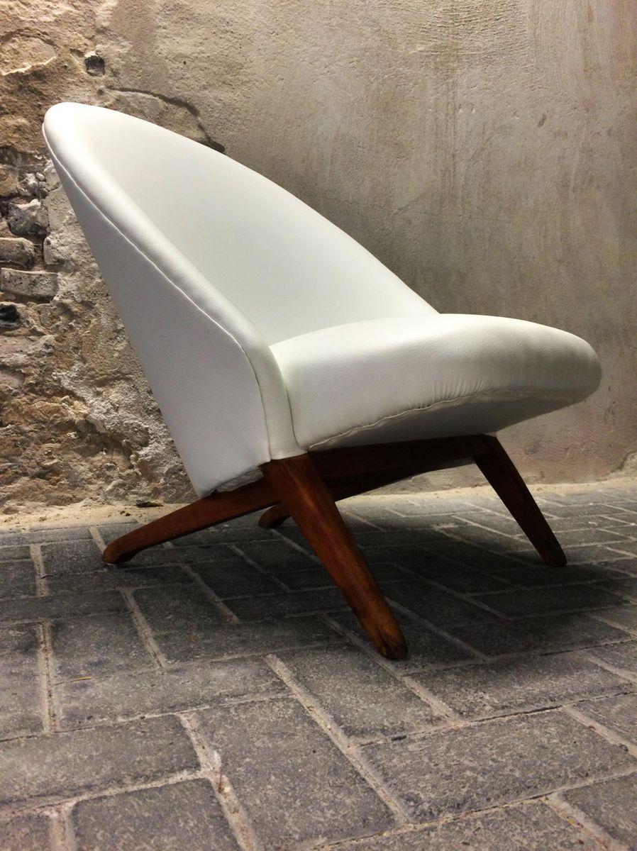 lounge stuhl von theo ruth f r artifort 1958 bei pamono kaufen. Black Bedroom Furniture Sets. Home Design Ideas