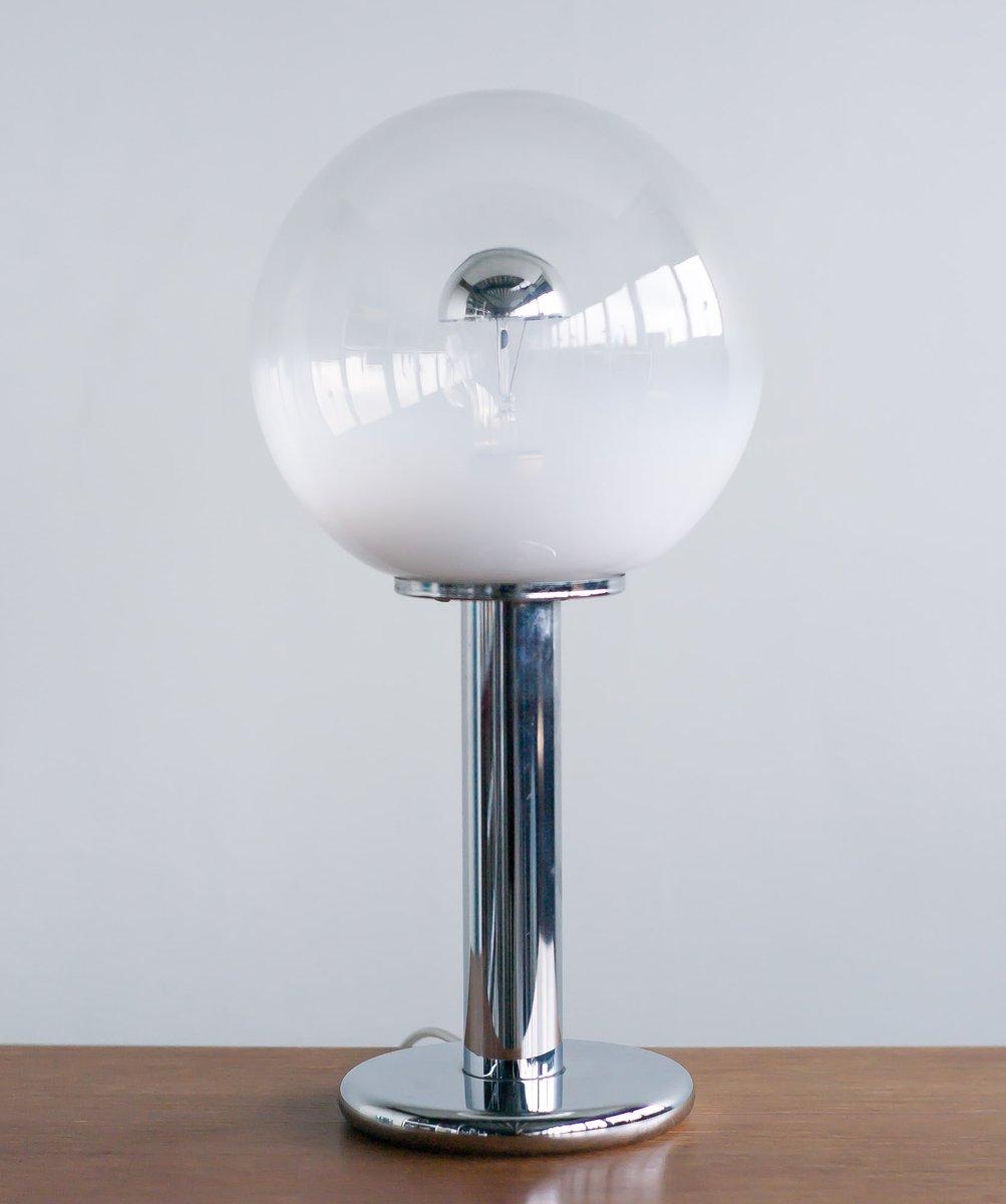 Italian chrome and murano blown glass table lamp from murano 1969 italian chrome and murano blown glass table lamp from murano 1969 mozeypictures Gallery