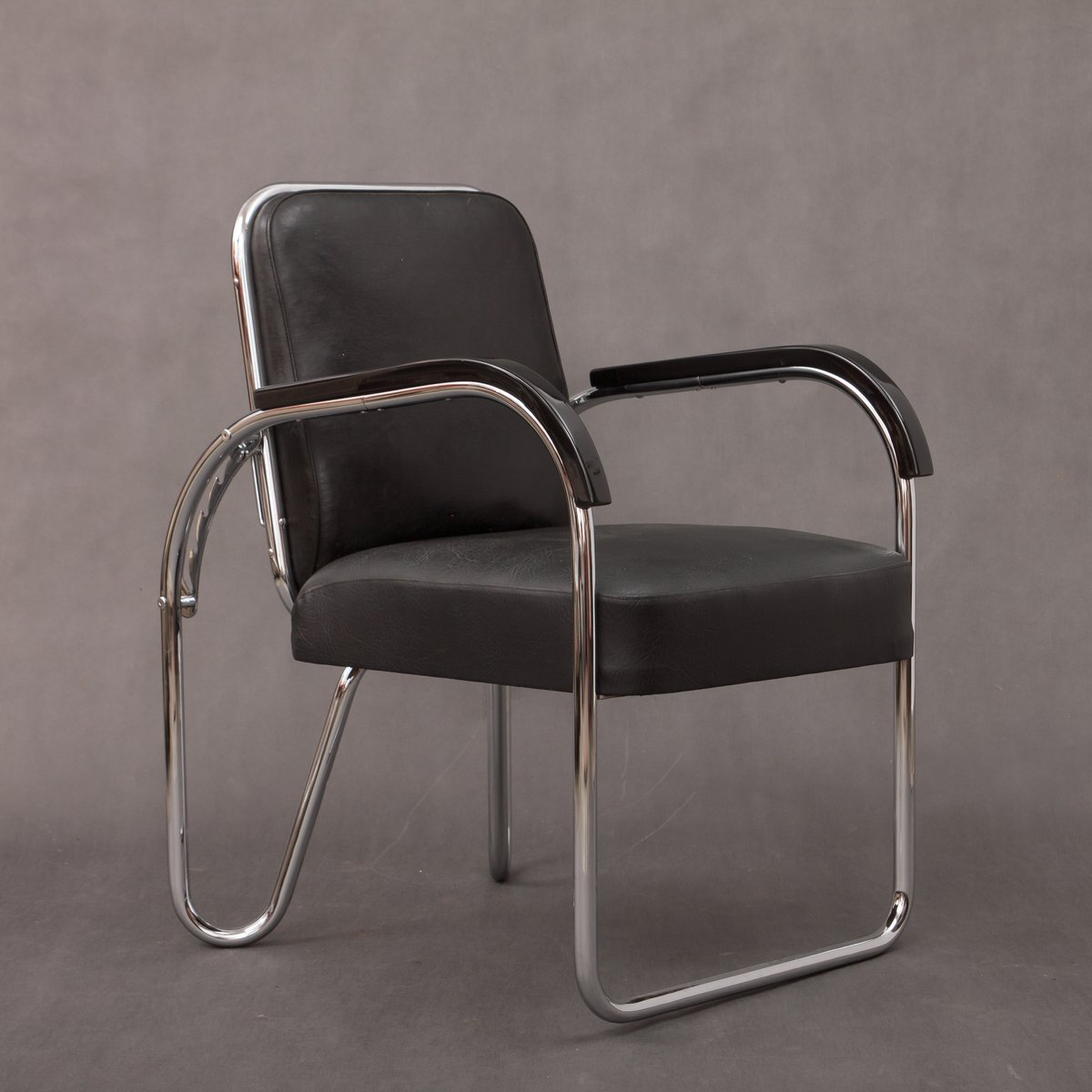 Foldable Bauhaus Chair From Ds Staal 1930s For Sale At Pamono