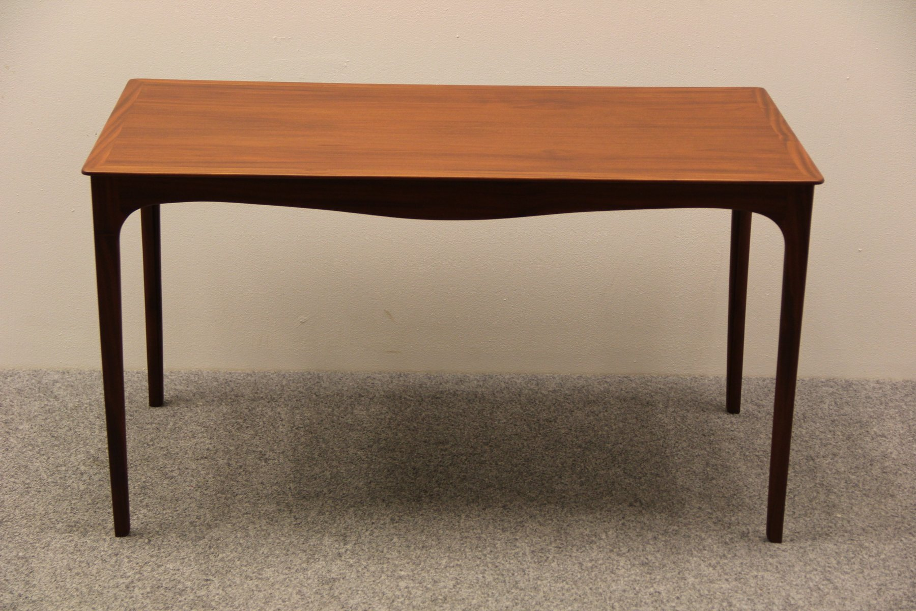 Danish Mahogany Coffee Table By Ole Wanscher For A J Iversen 1950s
