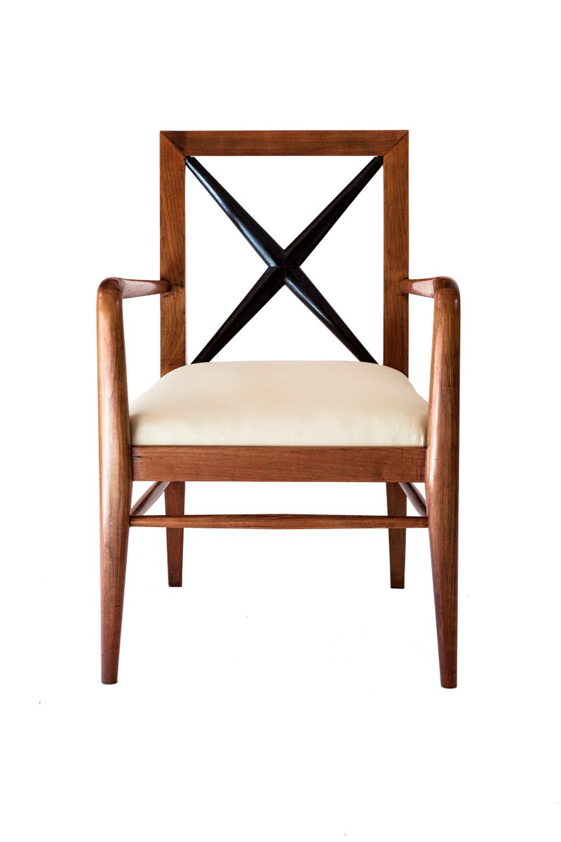 Elmwood Chairs By Tomaso Buzzi 1930s Set Of 3 For Sale