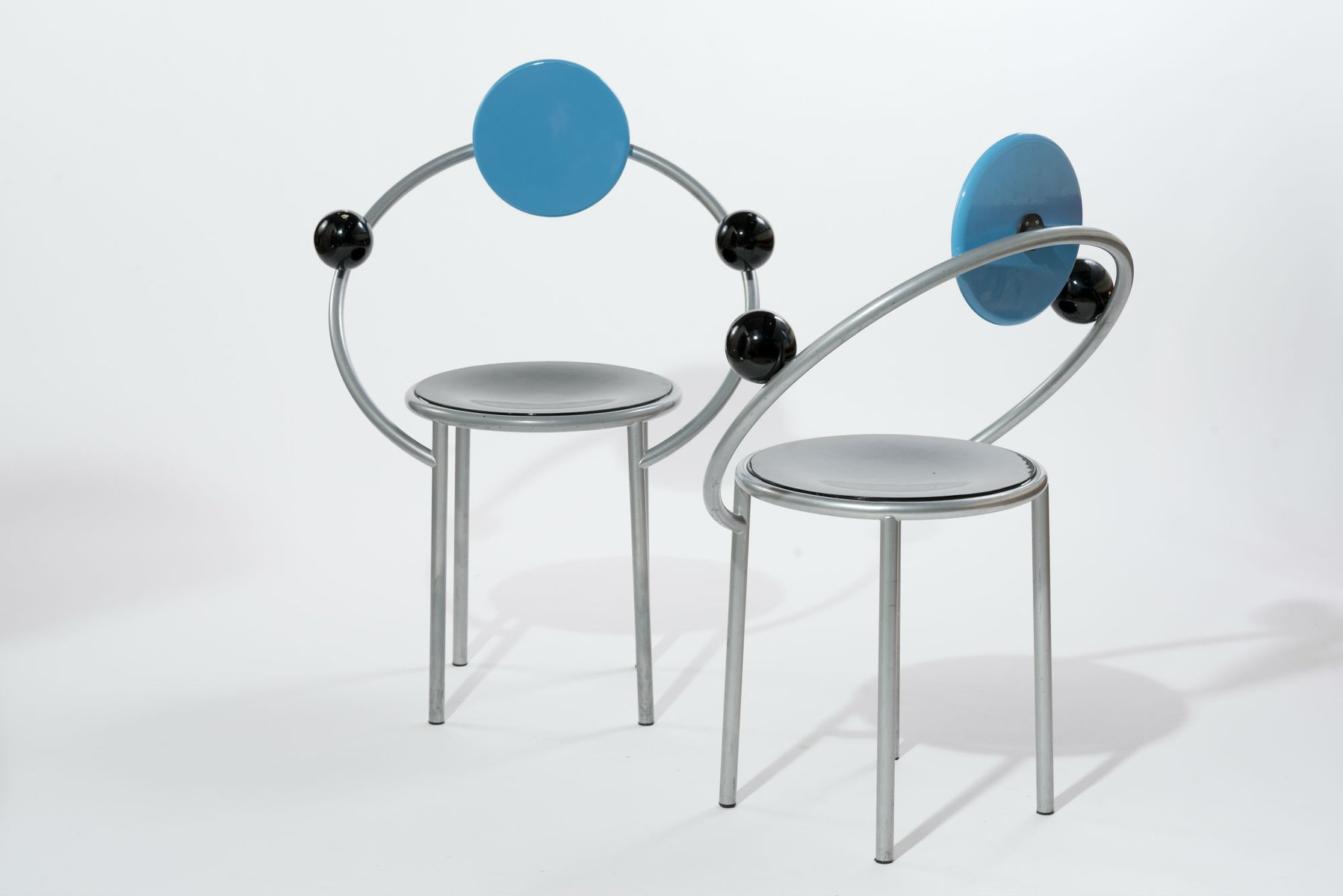 memphis group furniture. First Chair By Michele De Lucchi For Memphis Milano, 1990s, Set Of 2 Group Furniture