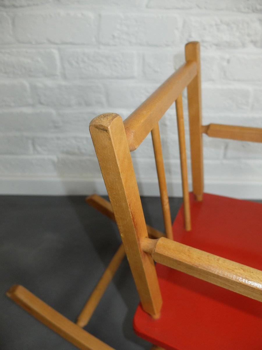 vintage schaukelpferd aus holz f r kinder bei pamono kaufen. Black Bedroom Furniture Sets. Home Design Ideas