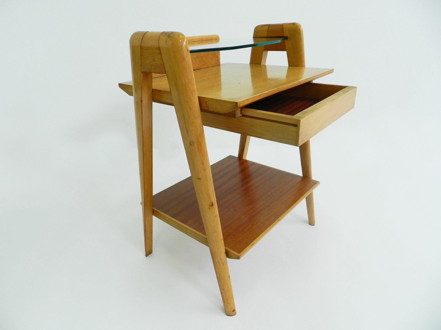 Amazing Mid Century Italian Bedside Table