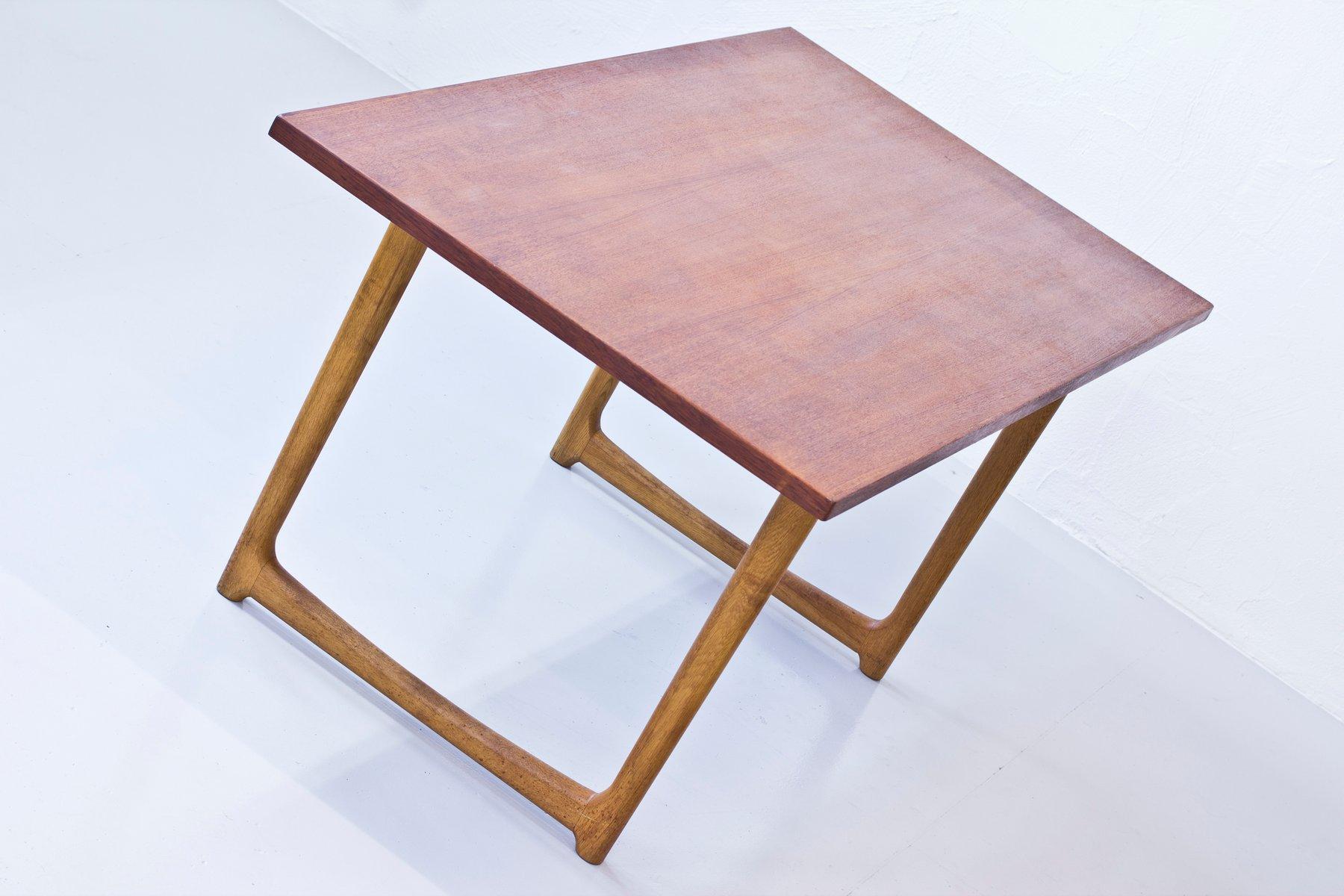 D nischer esstisch aus eichenholz teak bei pamono kaufen for Eichenholz esstisch