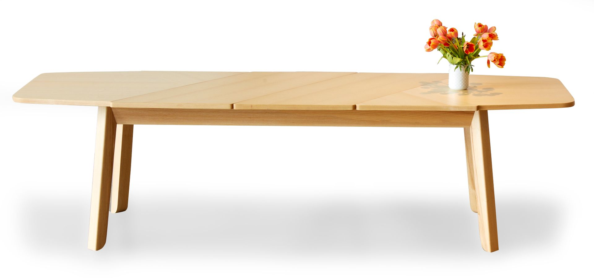 Ausziehbarer wrap esstisch von debra folz design bei for Ausziehbarer esstisch design