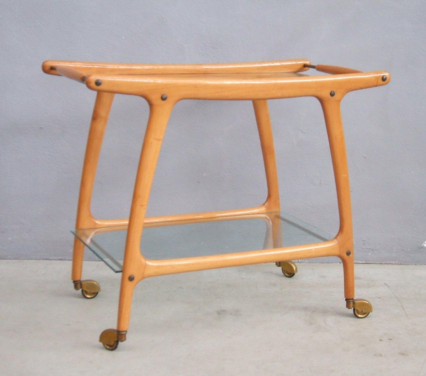 italienischer mid century bar wagen 1950er bei pamono kaufen. Black Bedroom Furniture Sets. Home Design Ideas