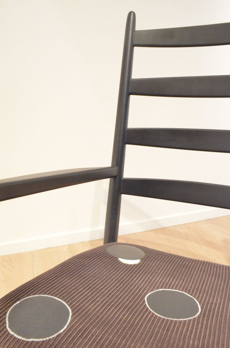 schwedischer mid century schaukelstuhl aus holz von poul m volther f r gemla bei pamono kaufen. Black Bedroom Furniture Sets. Home Design Ideas