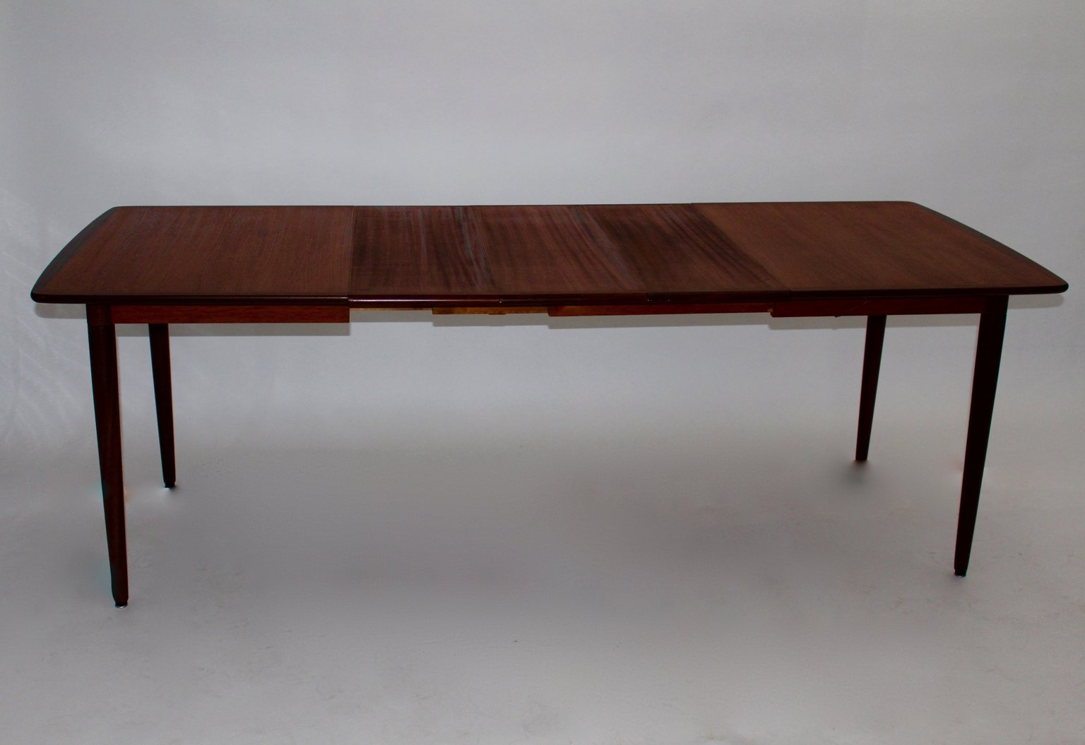 Table de salle manger rectangulaire en teck palissandre for Salle a manger en teck