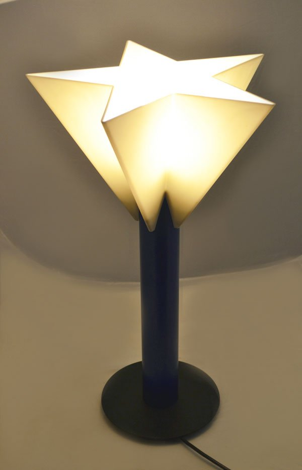 star shaped lighting. Star Shaped Table Lamp By Salvatore Gregorietti For Status Milano, 1980s Lighting F