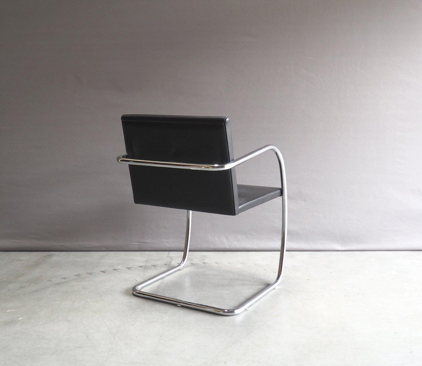 chrom leder brno stuhl von mies van der rohe f r knoll 1930er bei pamono kaufen. Black Bedroom Furniture Sets. Home Design Ideas
