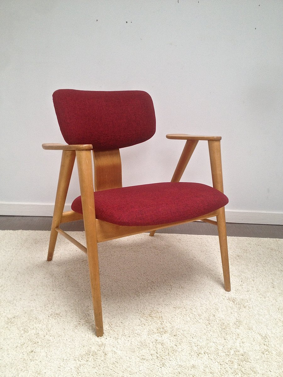 Dutch fb 14 easy chair by cees braakman for pastoe 1960s for Dutch design chair uk