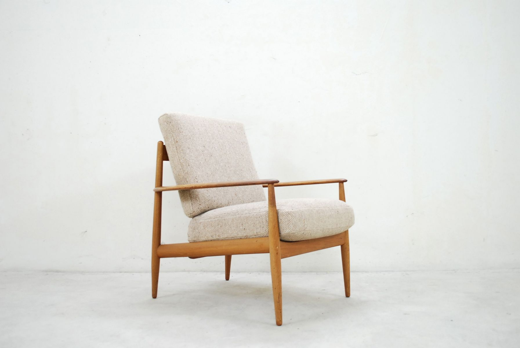 Captivating Danish Teak Easy Chair By Grete Jalk For France U0026 Son, 1965 For Sale At  Pamono