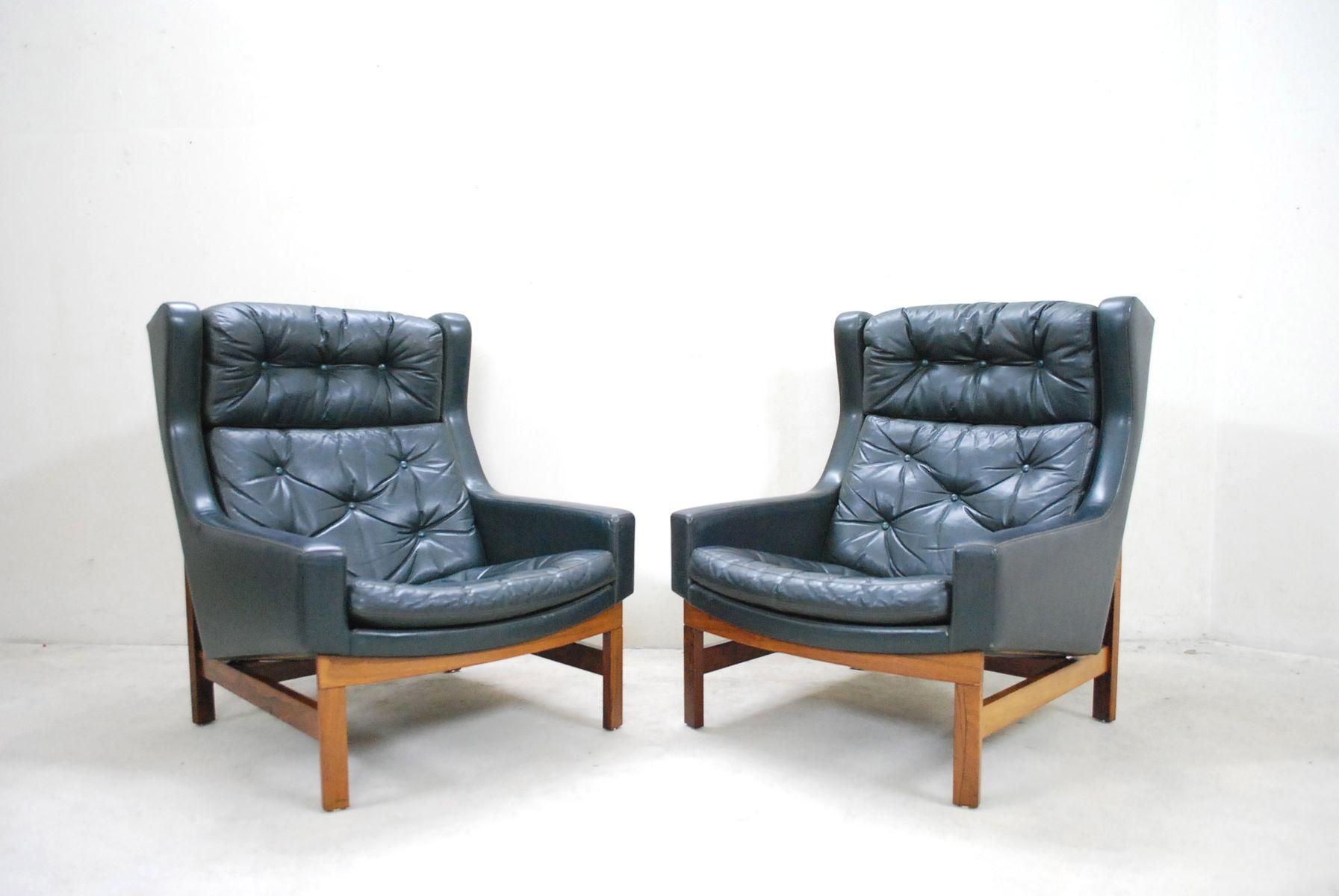 gr ner palisander geschwungener sessel 1975 bei pamono kaufen. Black Bedroom Furniture Sets. Home Design Ideas