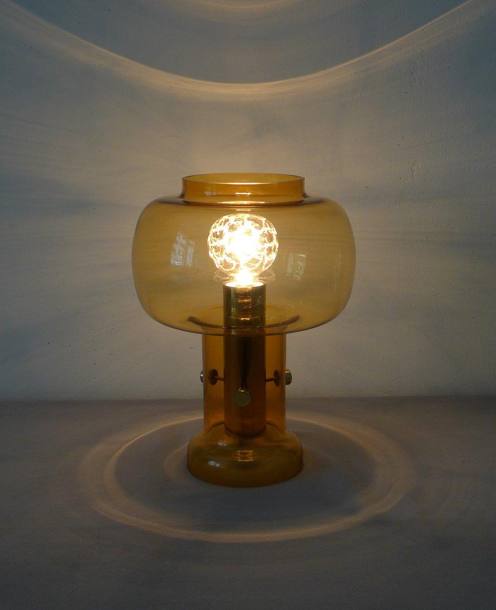 Lampada da tavolo vintage in vetro traslucido in vendita - Lampada da tavolo vintage ...