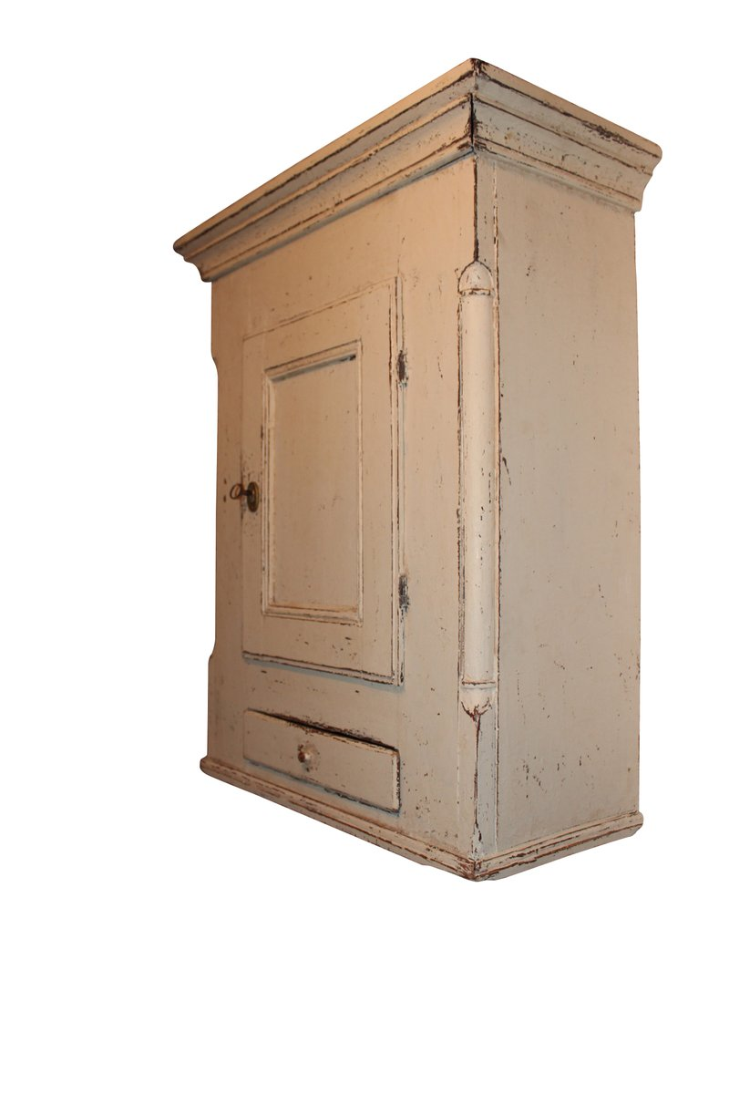 Antique Wall Cupboard, 1860s - Antique Wall Cupboard, 1860s For Sale At Pamono