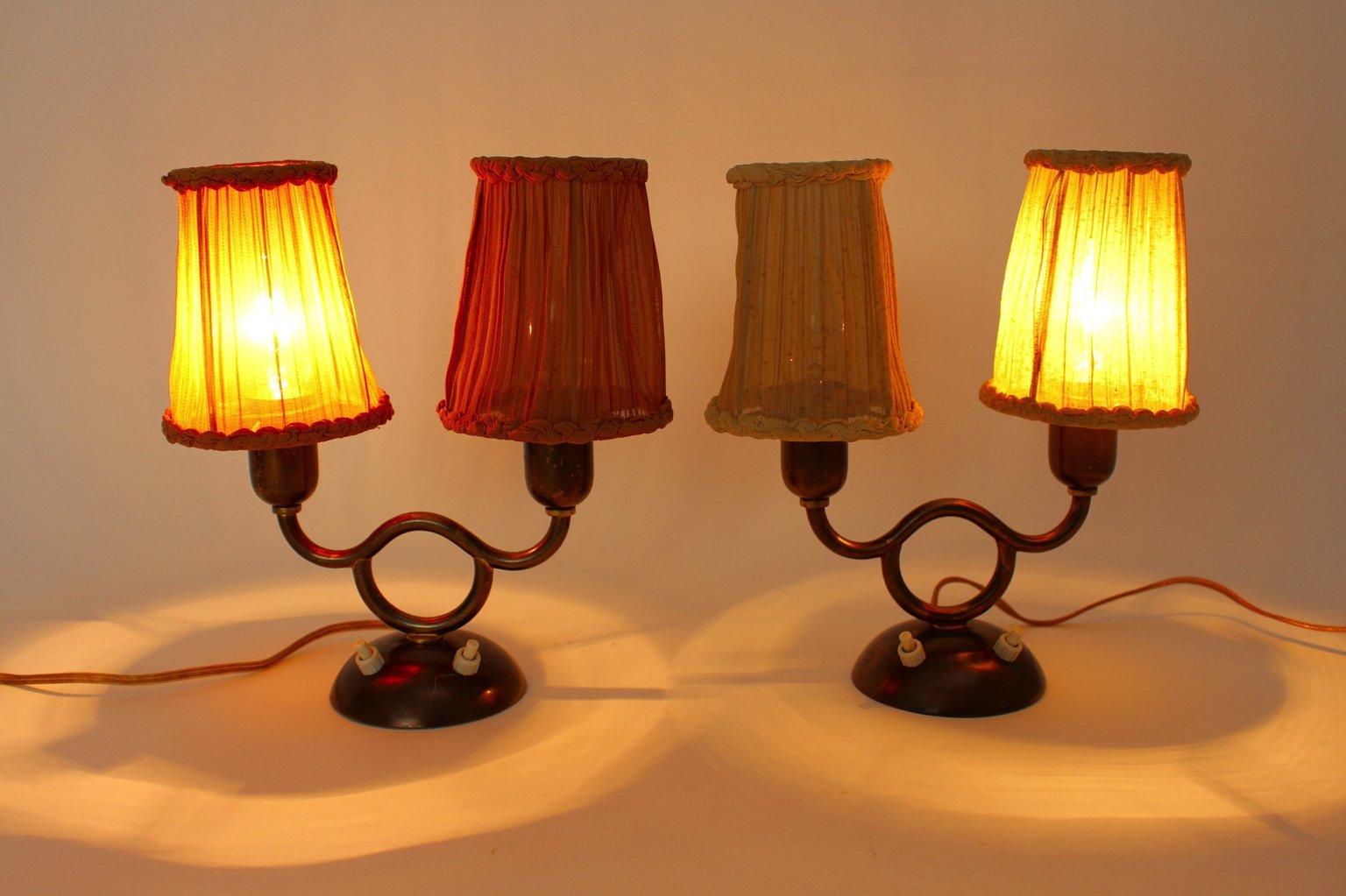 Lampade da tavolo viennesi di josef frank anni 39 30 set for Lampade piccole da tavolo