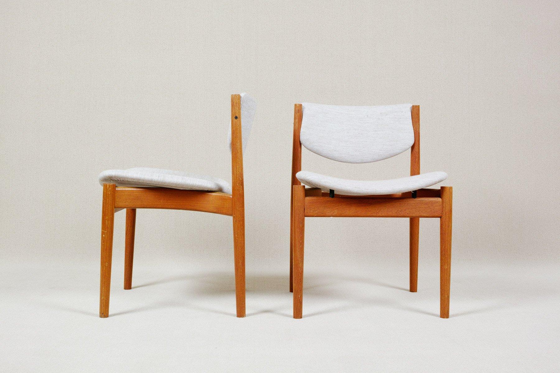 Delightful Dining Chairs Model 197 By Finn Juhl For France U0026 Søn, 1960s, Set Of 8