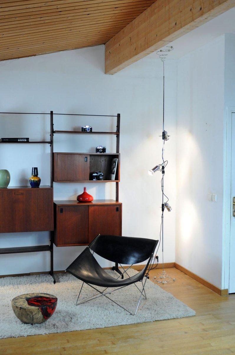 boden bis decken lampe von francesco fois f r reggiani 1960er bei pamono kaufen. Black Bedroom Furniture Sets. Home Design Ideas