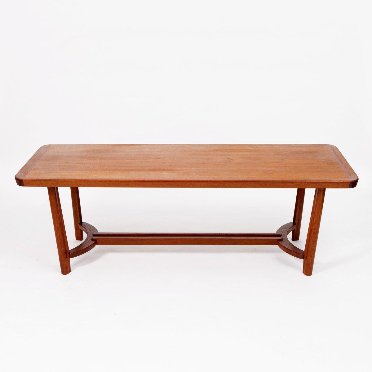 skandinavischer mid centry teak couchtisch bei pamono kaufen. Black Bedroom Furniture Sets. Home Design Ideas