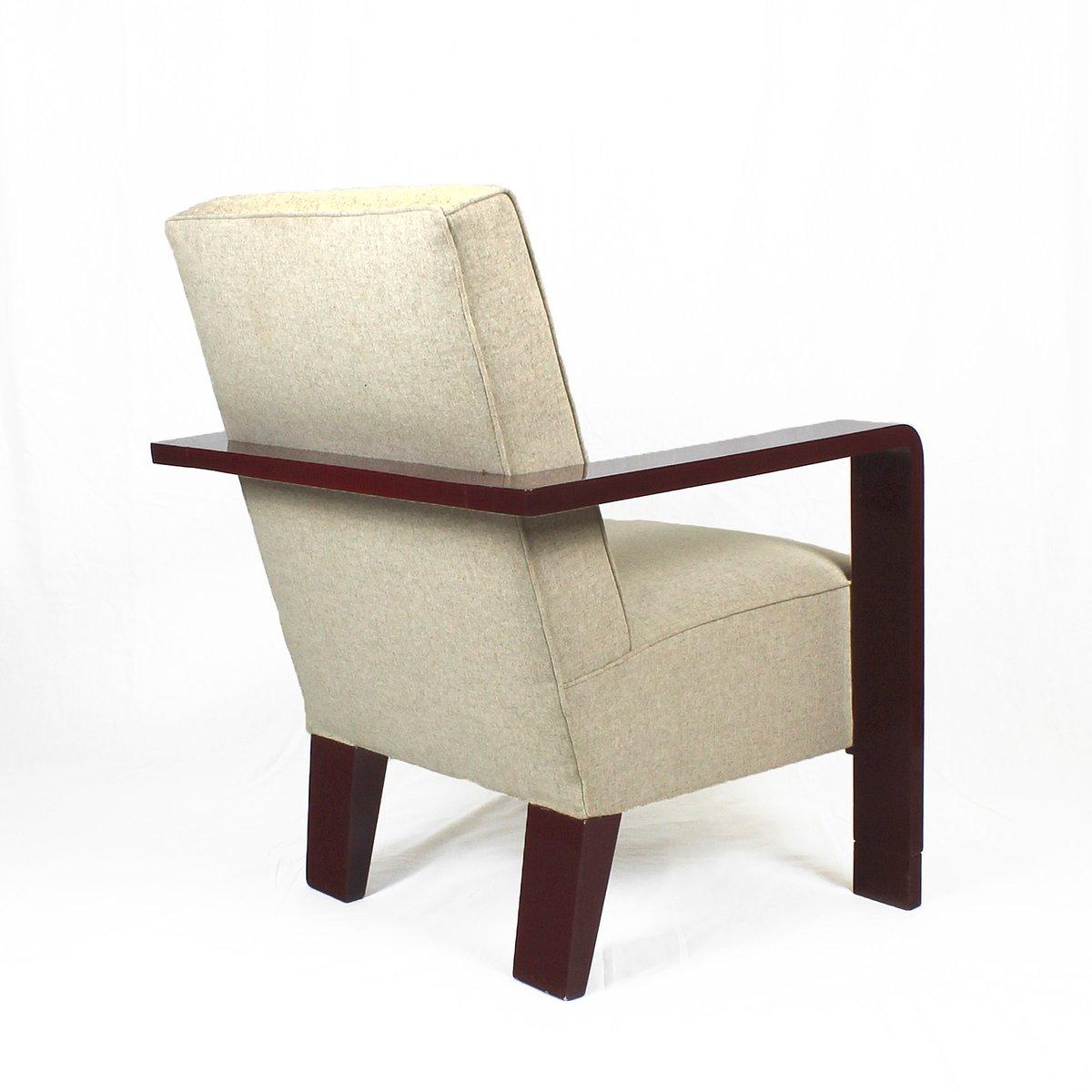 Artdeco Sessel kubistische deco sessel 1930er 2er set bei pamono kaufen