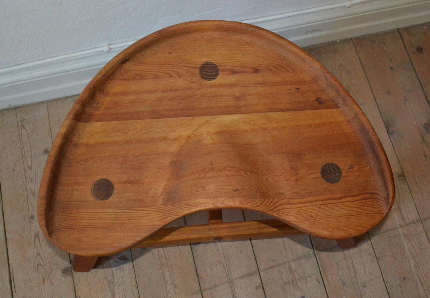 Norwegian Pine Stool from Krogen?s M?bler, 1972 for sale at Pamono