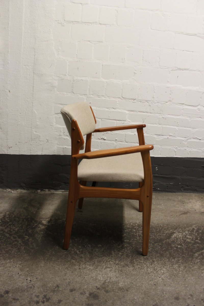 Mid Century Danish Model 49 Chair by Erik Buch for O D Mobler AS