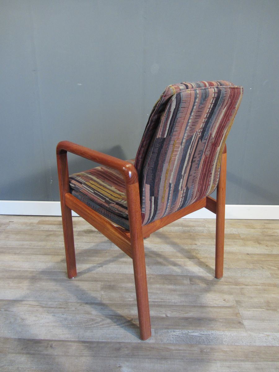 mid century danish teak dining chairs from dyrlund set of 4 for sale at pamono. Black Bedroom Furniture Sets. Home Design Ideas
