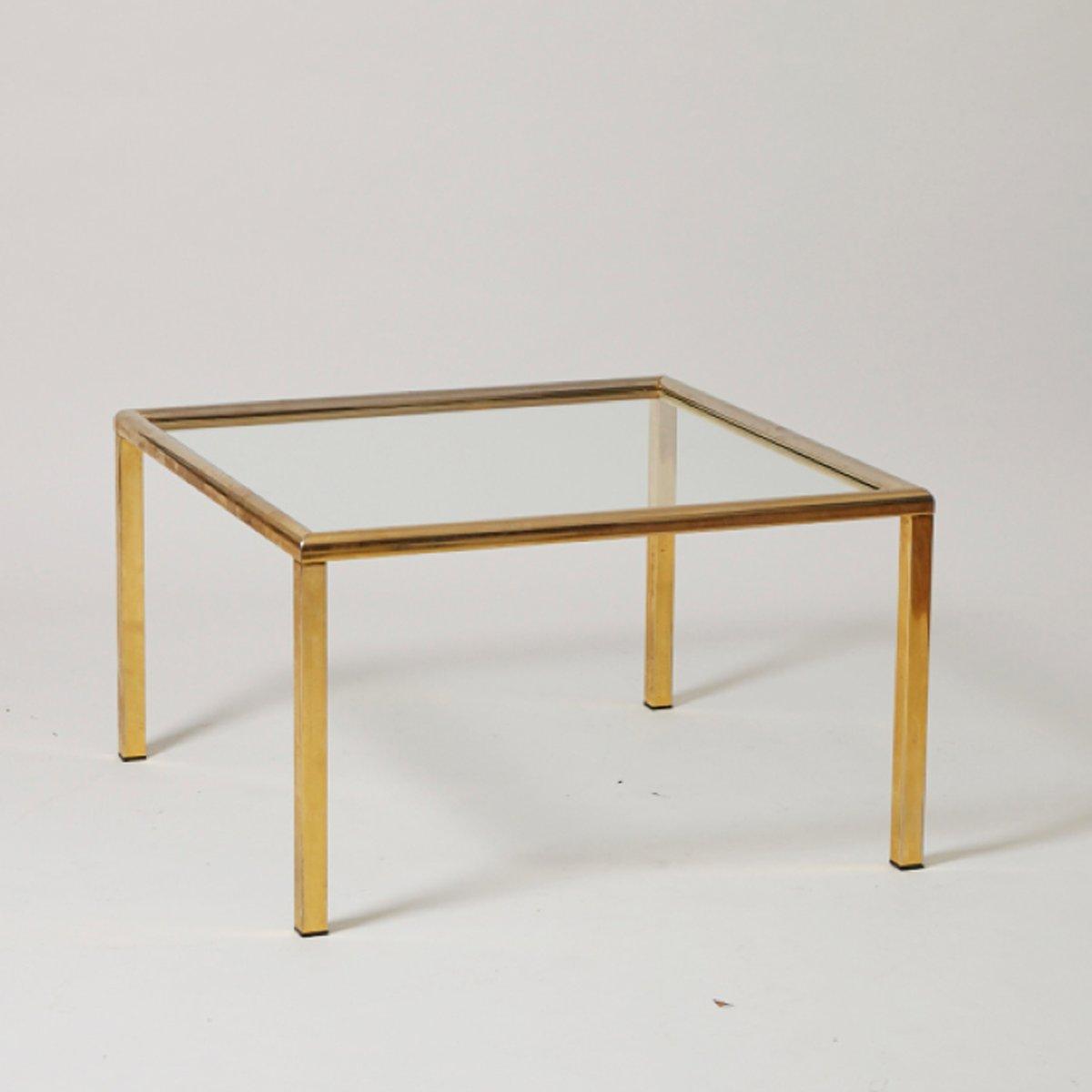 vintage beistelltisch aus messing bei pamono kaufen. Black Bedroom Furniture Sets. Home Design Ideas