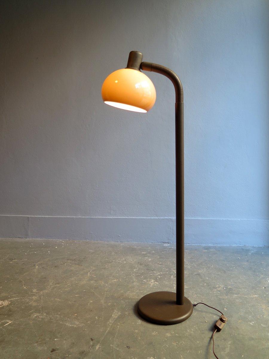 stehlampe aus metall mit flexiblem arm bei pamono kaufen. Black Bedroom Furniture Sets. Home Design Ideas