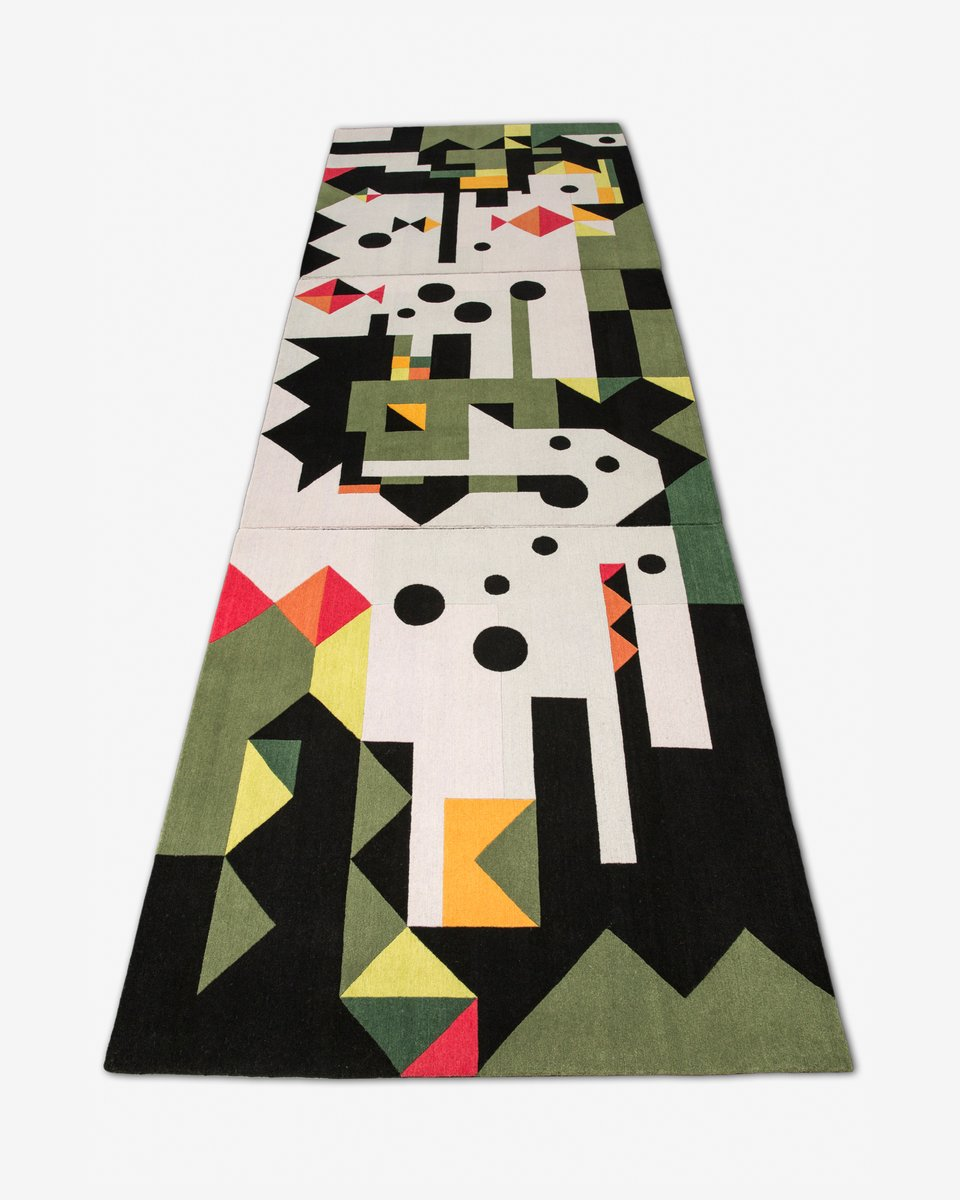 Calm Fish Rugs By Kostas Neofitidis For Kota Collections