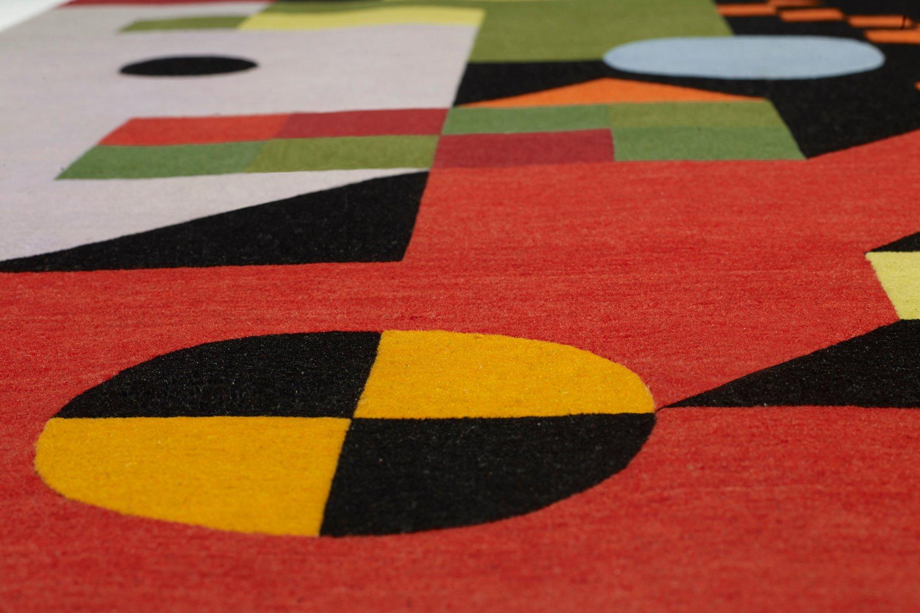 tibetischer red head wollteppich von kostas neofitidis f r. Black Bedroom Furniture Sets. Home Design Ideas