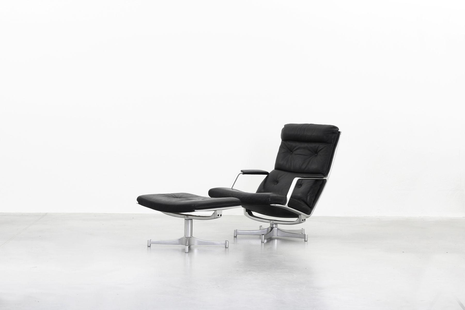 FK85 Lounge Chair U0026 Ottoman Set By Fabricius U0026 Kastholm For Kill  International, 1968