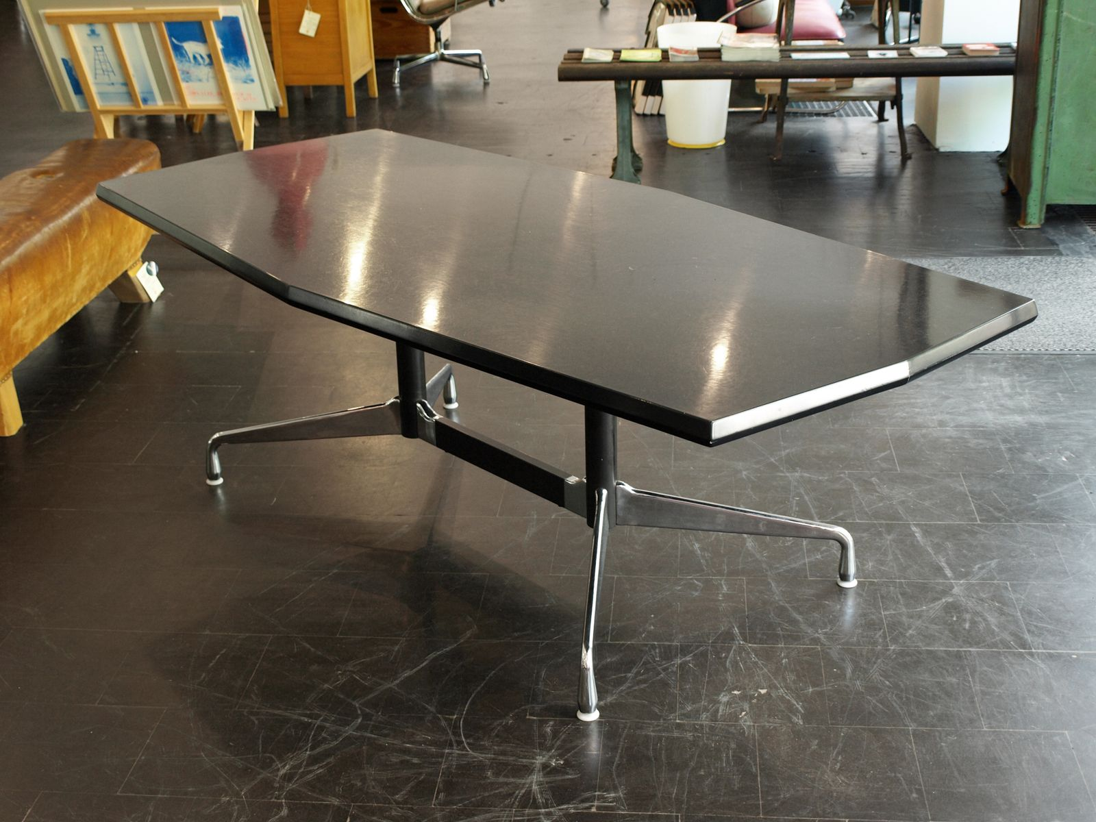 mid century coffee table by charles ray eames for vitra for sale at pamono. Black Bedroom Furniture Sets. Home Design Ideas