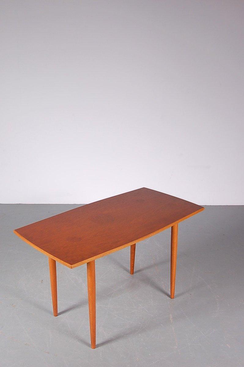 schwedischer teak birke couchtisch von tingstr ms. Black Bedroom Furniture Sets. Home Design Ideas