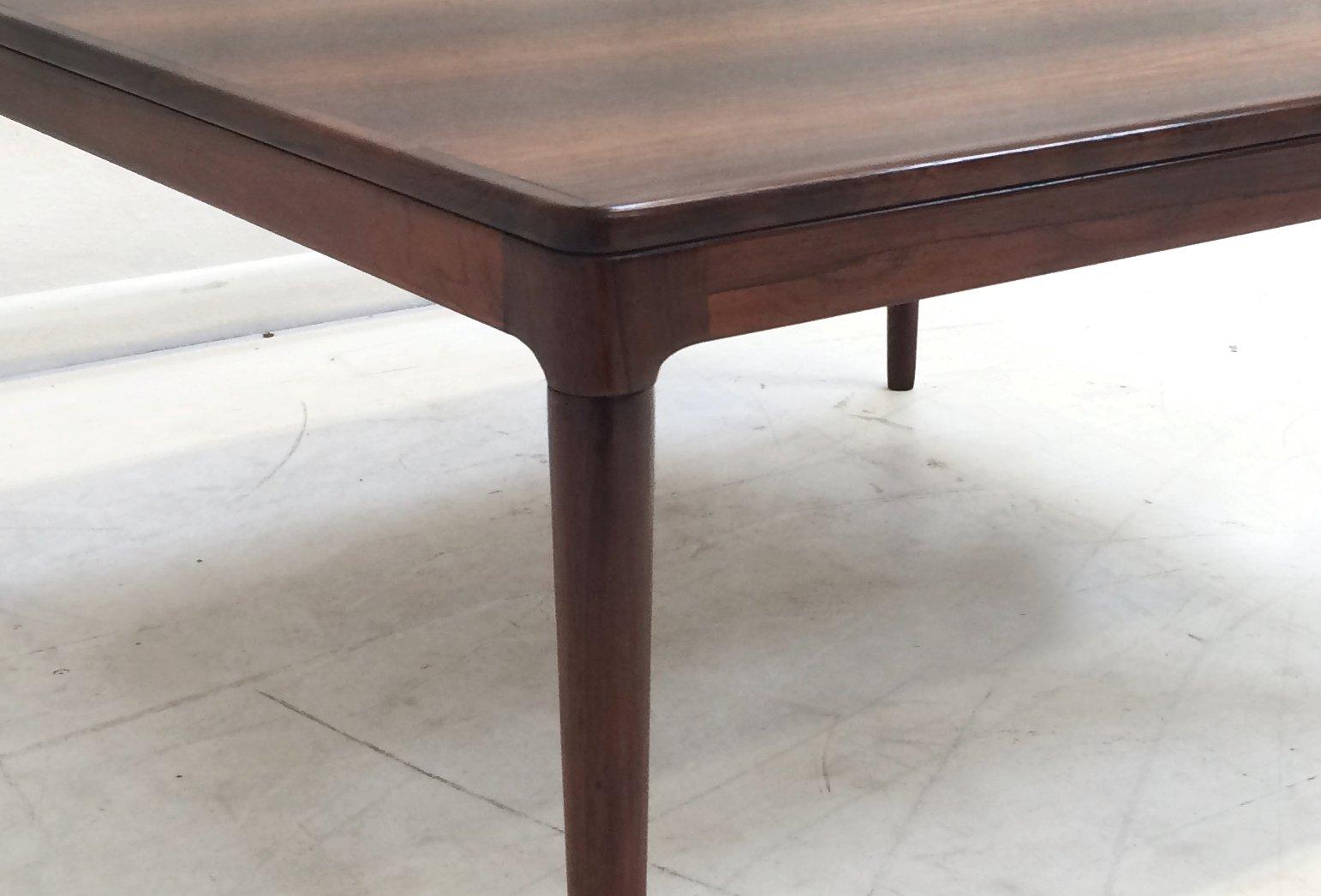 Danish Rosewood Coffee Table By Arne Hovmand Olsen For Mogens Kold, 1950s