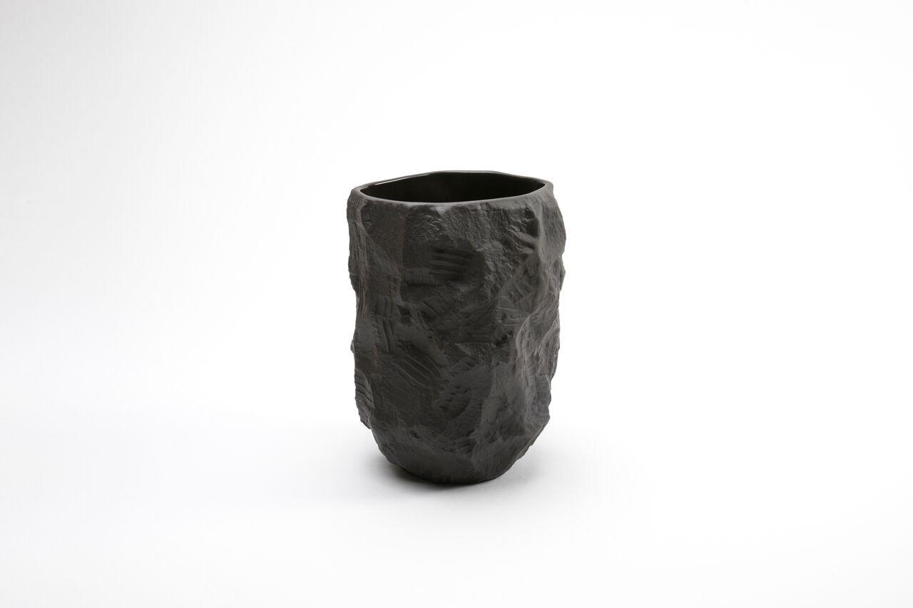 Tall vase in black basalt from the crockery series by max lamb for tall vase in black basalt from the crockery series by max lamb for 1882 ltd reviewsmspy