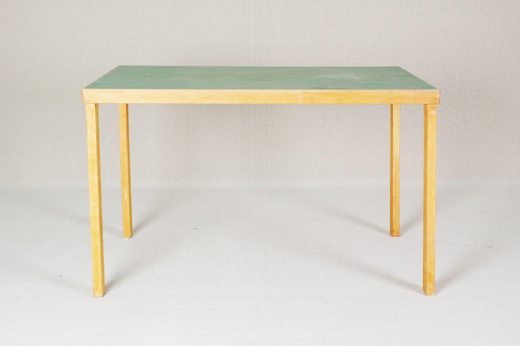 Vintage straight leg table by alvar aalto for huonekalu ja vintage straight leg table by alvar aalto for huonekalu ja rakennustytehdas watchthetrailerfo