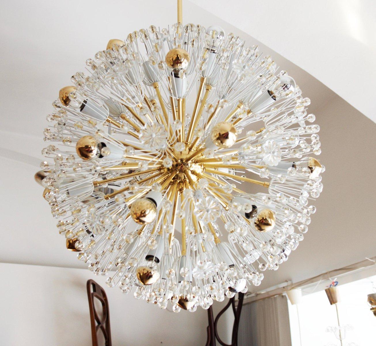 Large austrian brass and glass sputnik chandelier by emil stejnar large austrian brass and glass sputnik chandelier by emil stejnar for rupert nikoll 1955 arubaitofo Image collections