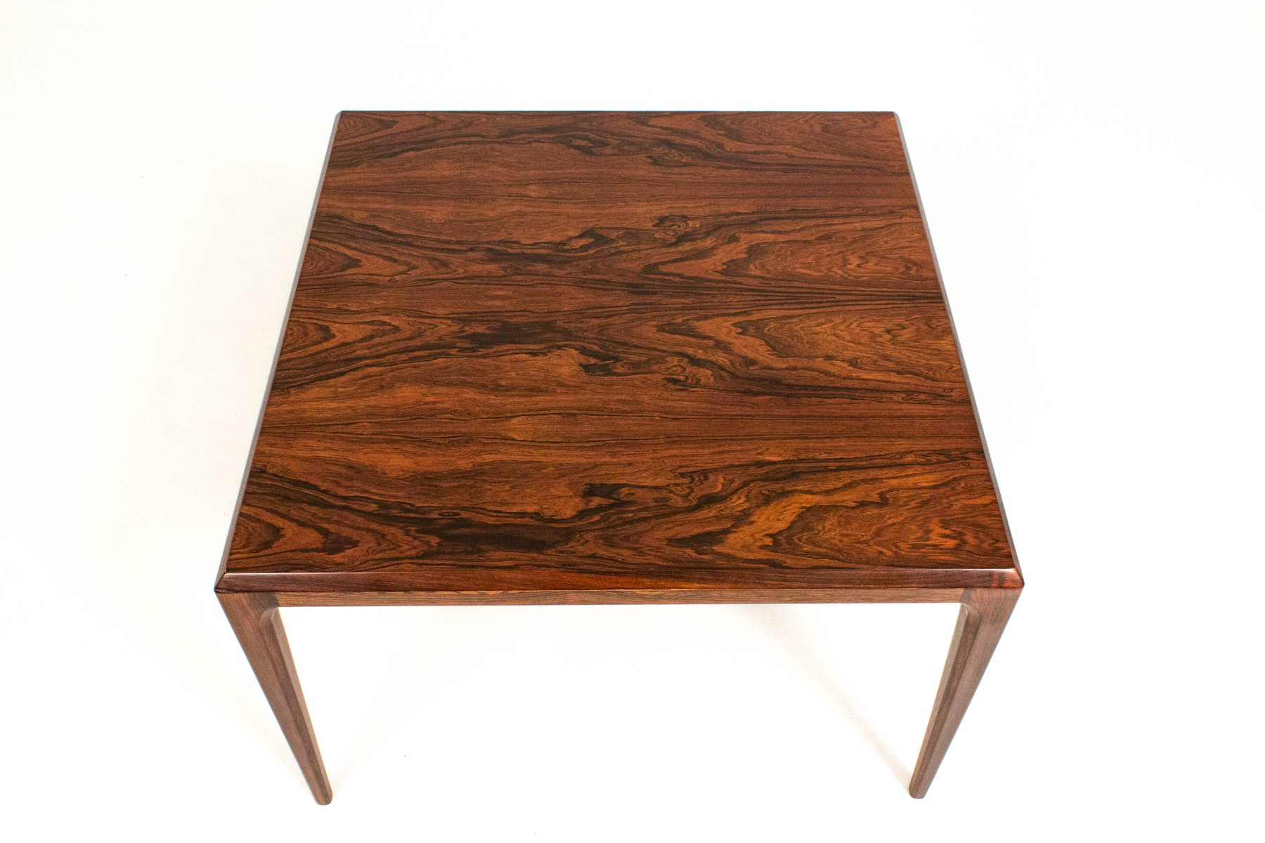 Danish Rosewood Coffee Table By Johannes Andersen For Silkeborg, 1960s