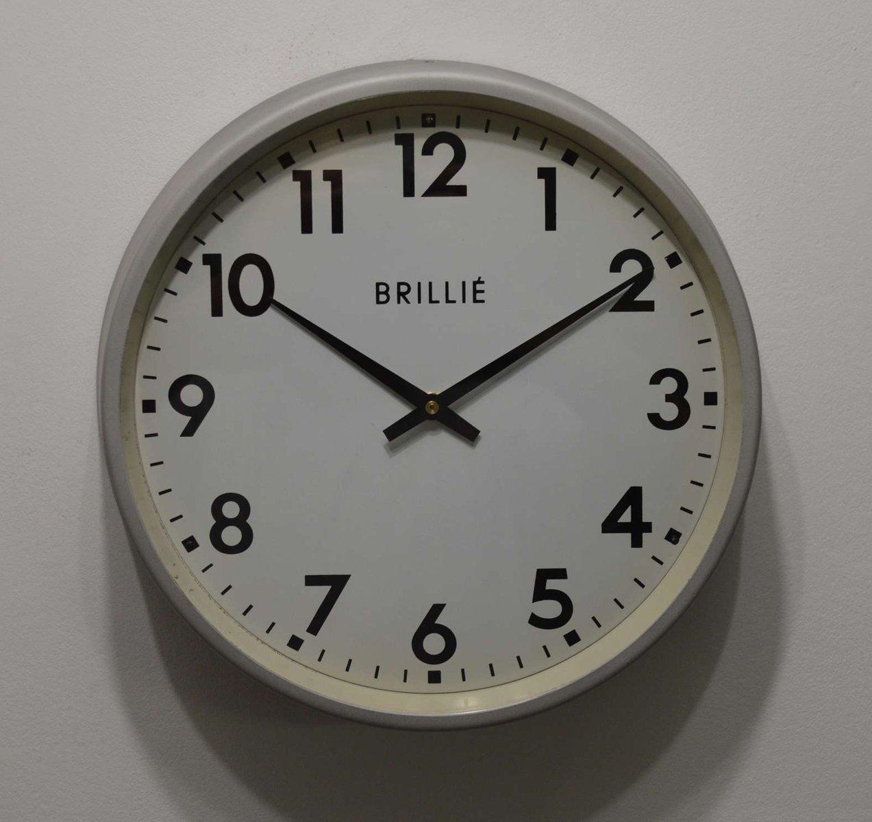 Horloge de brilli france en vente sur pamono for Prix horloge