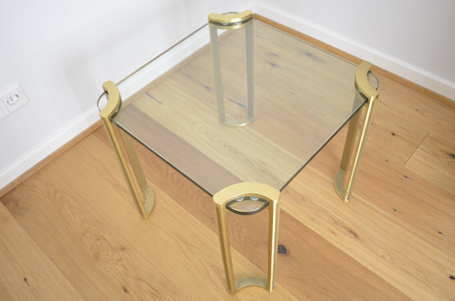 deutscher messing couchtisch 1970er bei pamono kaufen. Black Bedroom Furniture Sets. Home Design Ideas